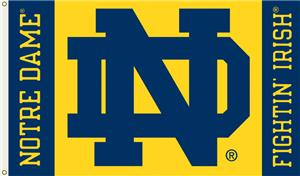 COLLEGIATE Notre Dame &quot;ND&quot; 3&#39; x 5&#39; Flag