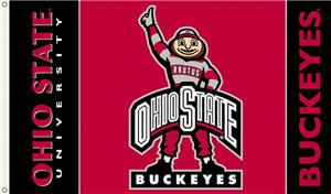 COLLEGIATE Ohio State Brutus 3' x 5' Flag