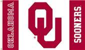 COLLEGIATE Oklahoma Sooners Red/White 3' x 5' Flag