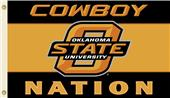 COLLEGIATE Oklahoma St. Cowboy Nation 3' x 5' Flag