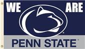 """COLLEGIATE Penn St. """"We Are Penn St."""" 3' x 5' Flag"""