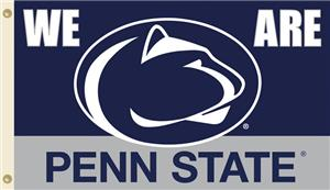 "COLLEGIATE Penn St. ""We Are Penn St."" 3' x 5' Flag"