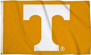 "COLLEGIATE Tennessee ""T"" Only 3' x 5' Flag"
