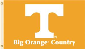 COLLEGIATE Tennessee Big Orange Country Flag