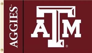 COLLEGIATE Texas A&M Aggies 3' x 5' Flag
