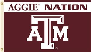 COLLEGIATE Texas A&M Aggie Nation 3' x 5' Flag