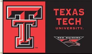 COLLEGIATE Texas Tech Red Raiders 3' x 5' Flag
