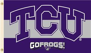 COLLEGIATE TCU Horned Frogs 3' x 5' Flag