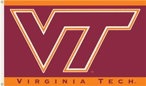 COLLEGIATE Virginia Tech Hokies 3' x 5' Flag
