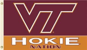 COLLEGIATE Virginia Tech Hokie Nation 3' x 5' Flag