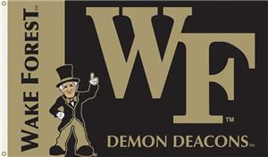 COLLEGIATE Wake Forest Demon Deacons 3&#39; x 5&#39; Flag