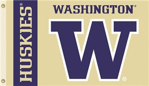 COLLEGIATE Washington Huskies 3&#39; x 5&#39; Flag