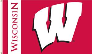 COLLEGIATE Wisconsin Badgers 3' x 5' Flag