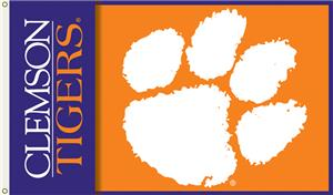 COLLEGIATE Clemson 2-Sided 3' x 5' Flag
