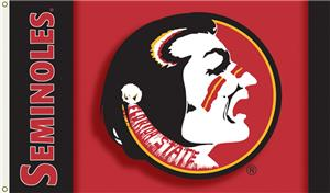 COLLEGIATE Florida State 2-Sided 3' x 5' Flag