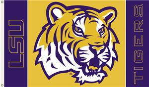 COLLEGIATE LSU 2-Sided 3' x 5' Flag