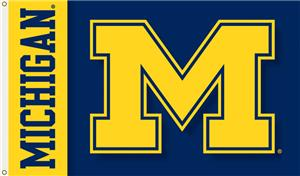 COLLEGIATE Michigan 2-Sided 3&#39; x 5&#39; Flag
