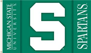 COLLEGIATE Michigan State 2-Sided 3' x 5' Flag