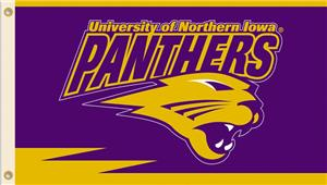 COLLEGIATE Northern Iowa 2-Sided 3' x 5' Flag