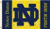COLLEGIATE Notre Dame 2-Sided 3' x 5' Flag