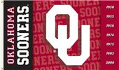 COLLEGIATE Oklahoma 2-Sided 3' x 5' Flag