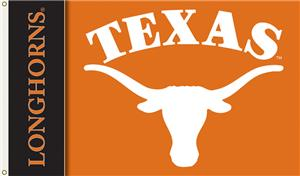 COLLEGIATE Texas 2-Sided 3' x 5' Flag