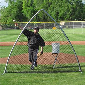 A-Screen Portable Baseball Pitching Screen Nets