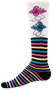 Red Lion Butterflies Athletic Socks