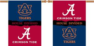 COLLEGIATE Alabama-Auburn House Divided Banner