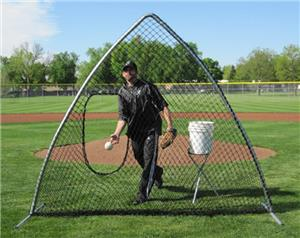 A-Screen Softball Portable Pitching Screen Nets