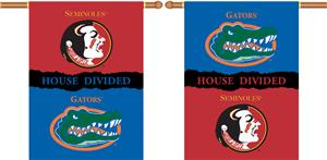 COLLEGIATE Florida-Florida St House Divided Banner