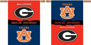 COLLEGIATE Georgia-Auburn House Divided Banner