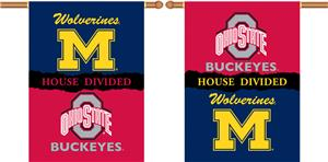 COLLEGIATE Michigan-Ohio St. House Divided Banner