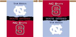 COLLEGIATE N. Carolina-NC St. House Divided Banner