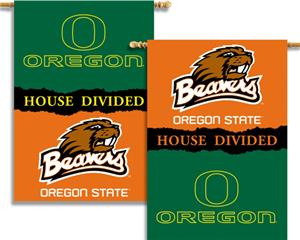 COLLEGIATE Oregon-Oregon St. House Divided Banner
