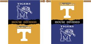 COLLEGIATE Tennessee-Memphis House Divided Banner