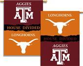 COLLEGIATE Texas-Texas A&M House Divided Banner