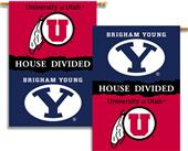 COLLEGIATE Utah-BYU House Divided Banner