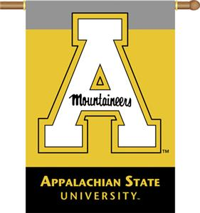 "COLLEGIATE Appalachian St 2-Sided 28"" x 40"" Banner"