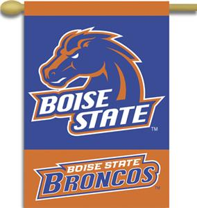 "COLLEGIATE Boise State 2-Sided 28"" x 40"" Banner"