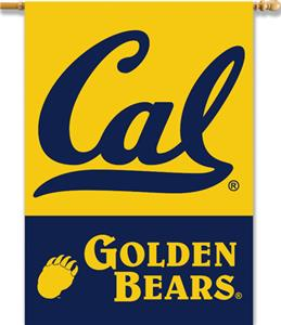 "COLLEGIATE Cal 2-Sided 28"" x 40"" Banner"