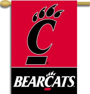 "COLLEGIATE Cincinnati 2-Sided 28"" x 40"" Banner"
