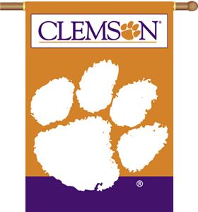 "COLLEGIATE Clemson 2-Sided 28"" x 40"" Banner"