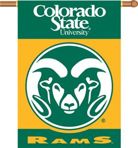 "COLLEGIATE Colorado State 2-Sided 28"" x 40"" Banner"
