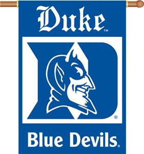 COLLEGIATE Duke 2-Sided 28&quot; x 40&quot; Banner