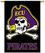"Collegiate East Carolina 2-Sided 28""x40"" Banner"