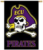 "Collegiate East Carolina 2-Sided 28""x40"" Banner"