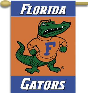 COLLEGIATE Florida Albert 2-Sided 28&quot; x 40&quot; Banner