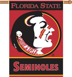 "COLLEGIATE Florida State 2-Sided 28"" x 40"" Banner"