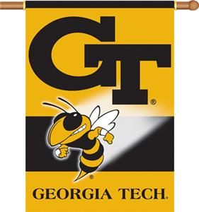 "COLLEGIATE Georgia Tech 2-Sided 28"" x 40"" Banner"